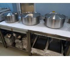 Oale, Semioale, Cratite inox cu capac gastronorm, profesionale