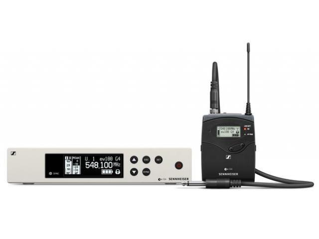 Set pt instrumente muzicale Sennheiser EW 100 G4