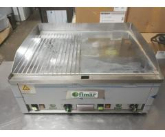 Gratar inox electric neted si striat italia de banc second