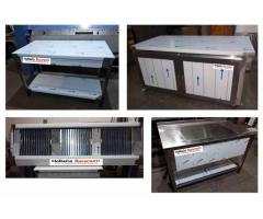 Producator mobilier inox, hota inox, spalator inox, masa inox