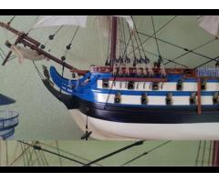 Macheta corabie lemn Le Protecteur