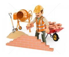Muncitori calificati si tineri necalificati in constructii Italia