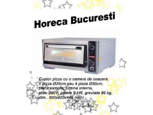 Cuptor pizza cu o camera profesional