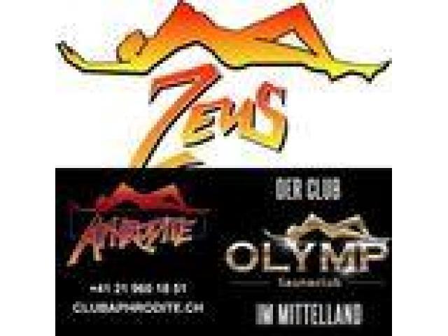 Club ZEUS / OLYMP Elvetia angajeaza legal, tinere 18 +, dragute si sociabile