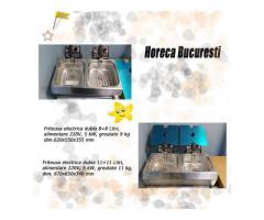 Friteuza inox electrica 2x8 Lt/2x11 Lt de banc