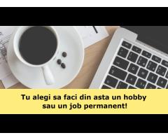 Tu alegi sa faci din asta un hobby sau un job permanent!