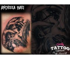 Tatuaje in Salon Profesional de tatuaje si body piercing .