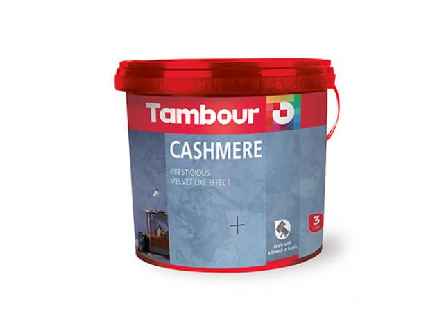 Vopsea cu efect special Cashmere de la Tambour