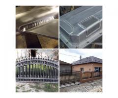Execut sudură în Aluminiu,Inox și Oțel (electric și argon)