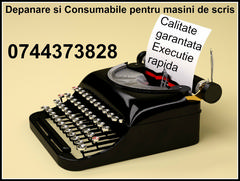 Depanare si Consumabile ptr.masini de scris, preturi minime calitate maxima