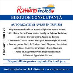 Autorizatii si avize in turism
