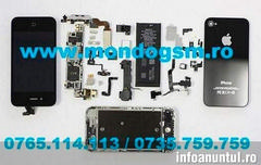 Reparatii microfon iphone 4 0765114113 Reparatii casca iphone 4